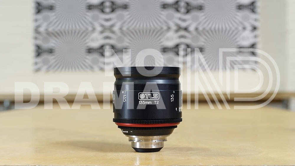 Canon 135mm FD lens rehoused by TLS