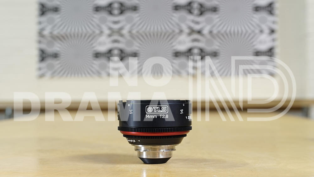 14mm Canon FD lens rehoused by TLS