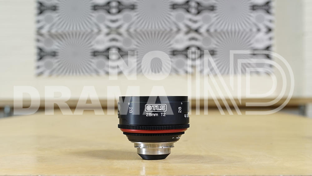 Canon 28mm FD lens rehoused by TLS