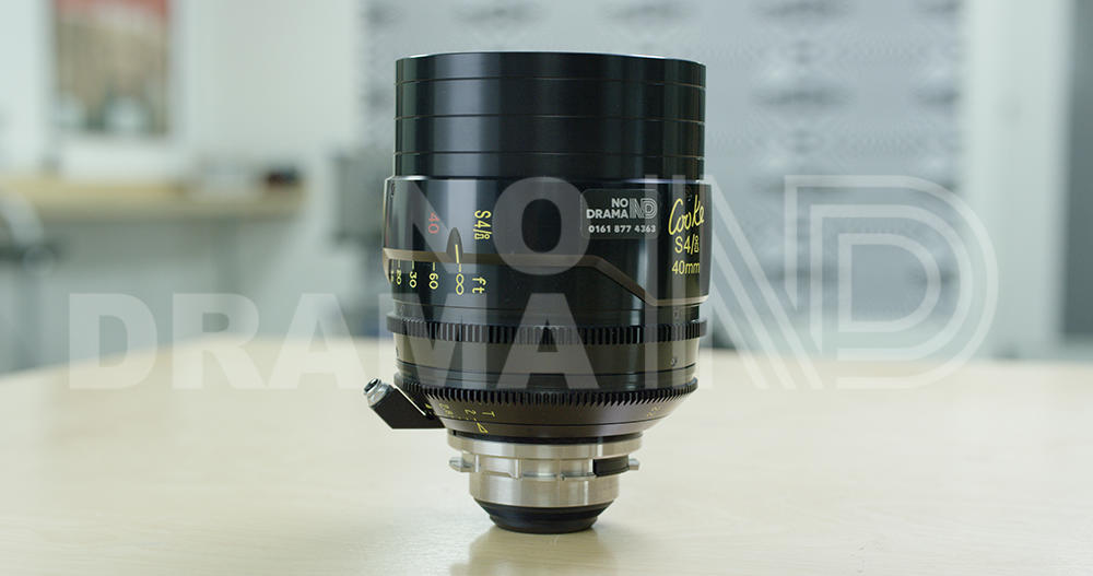 No Drama Cooke S4i 40mm T2