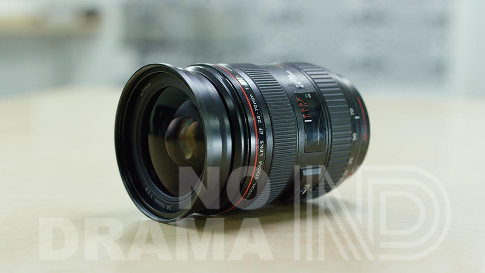 Canon 24-70 EF mount L Series zoom lens